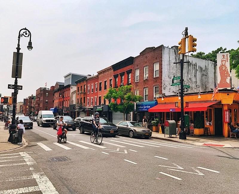 Brooklyn tour. Boreum Hill
