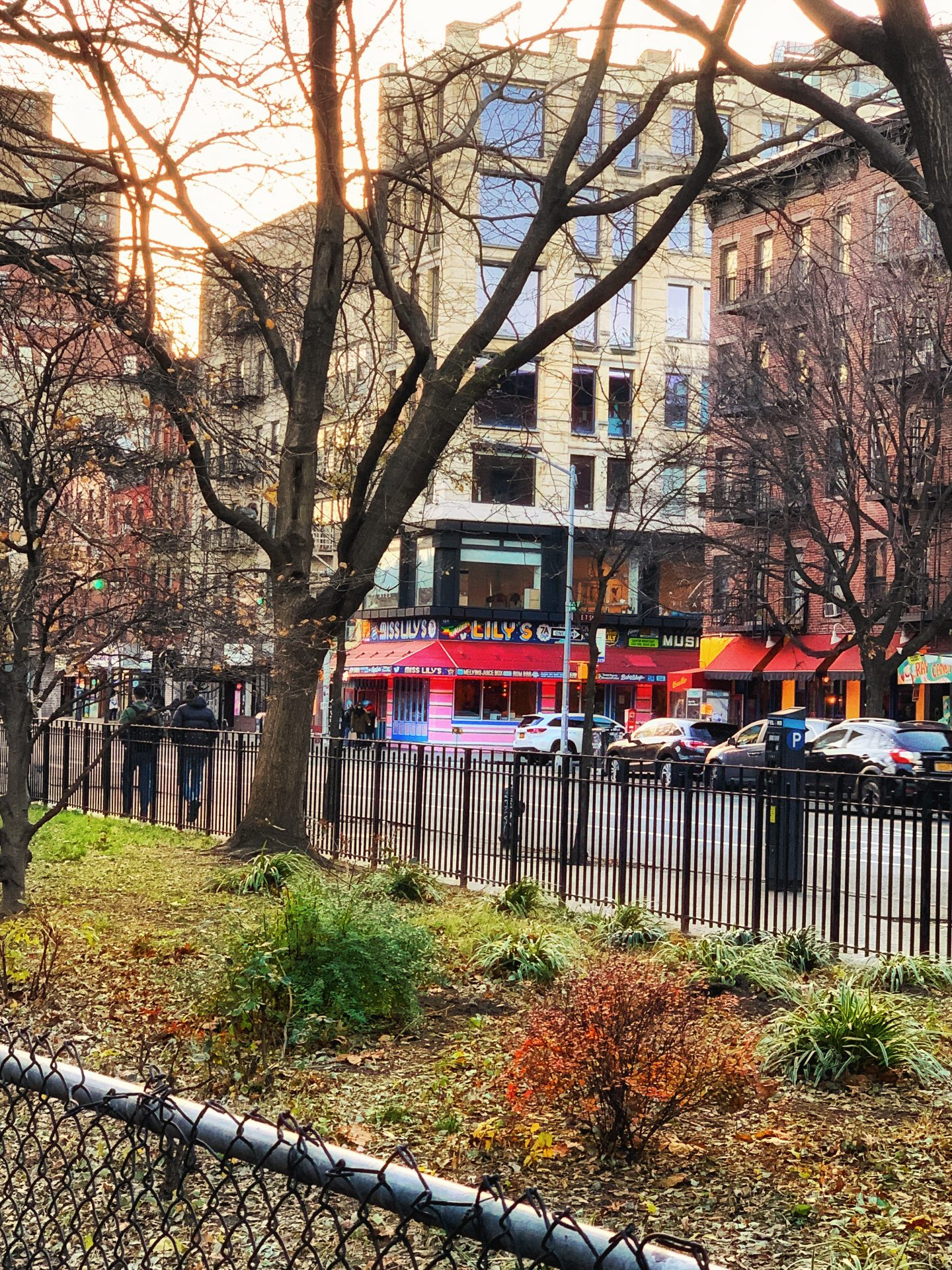 East Village restaurant seen in my Dash & Lily's Book of Dares tour