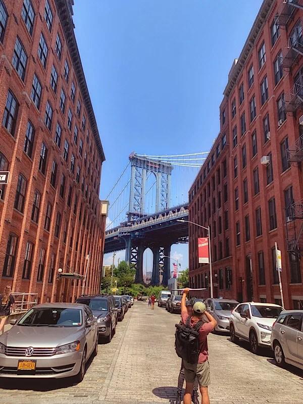 Manhattan Bridge seen from Dumbo