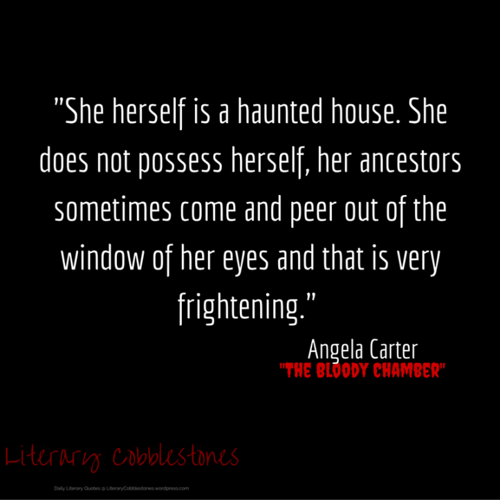 """October 14: Angela Carter's """"The Bloody Chamber"""" 