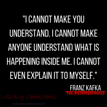 """October 27: Franz Kafka's """"The Metamorphosis"""""""