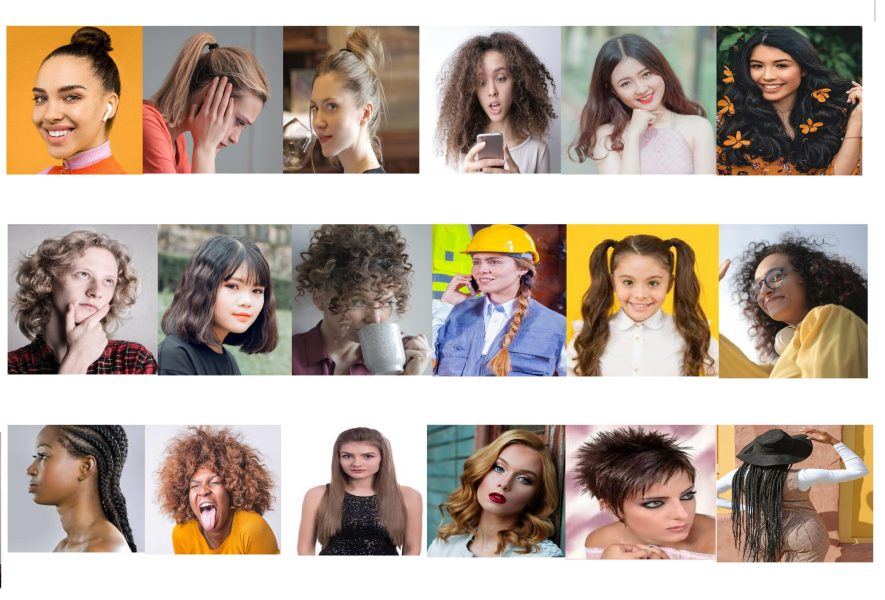 Hairstyle, color, length