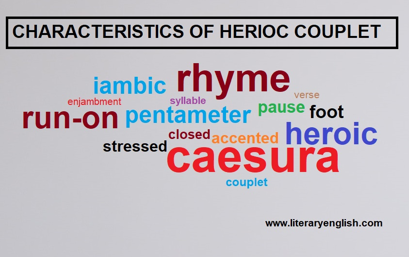 characteristics of heroic couplet