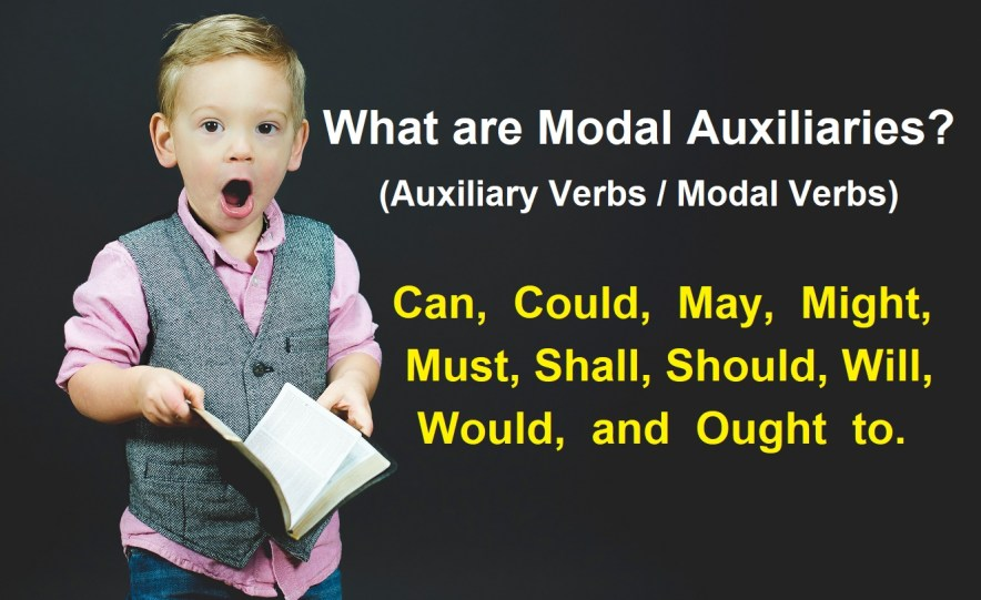 What are Modal Auxiliaries Auxiliary Verbs Modal Verbs
