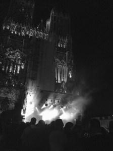 Concert au parvis du cathédrale