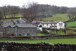 View of Castle Cottage from Hill Top