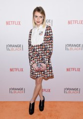"""Taryn Manning (Tiffany """"Pennsatucky"""" Doggett) said she would bring her phone so she could see pictures and read. She would also like to bring her guitar, so she could play in prison."""
