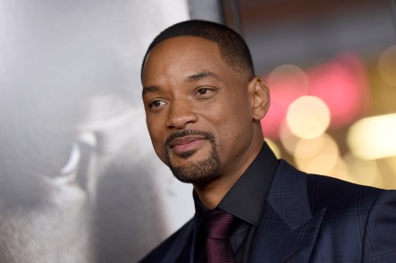 HOLLYWOOD, CA - NOVEMBER 10: Actor Will Smith arrives at the AFI FEST 2015 Presented By Audi Centerpiece Gala Premiere of Columbia Pictures' 'Concussion' at TCL Chinese Theatre on November 10, 2015 in Hollywood, California. (Photo by Axelle/Bauer-Griffin/FilmMagic)