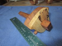 Cherry Pecan Marking Gauge Bell Fence June 2012 - - 2