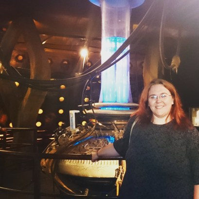 My new ride!!! Inside the 10th Doctor's #TARDIS control room. #DoctorWho #DWExperience #Cardiff ©studyreadwrite