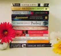 #fallintoreads Day 1: My November #TBR #bookstagram #richardcastle #johngreen ©theliteratigirl