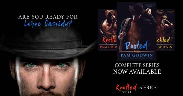 * New Release * Booted (Trails of Sin book 3) by Pam Godwin * Blog Tour * Book Review *