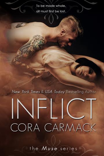Dual Cover Reveal * Inspire & Inflict by Cora Carmack