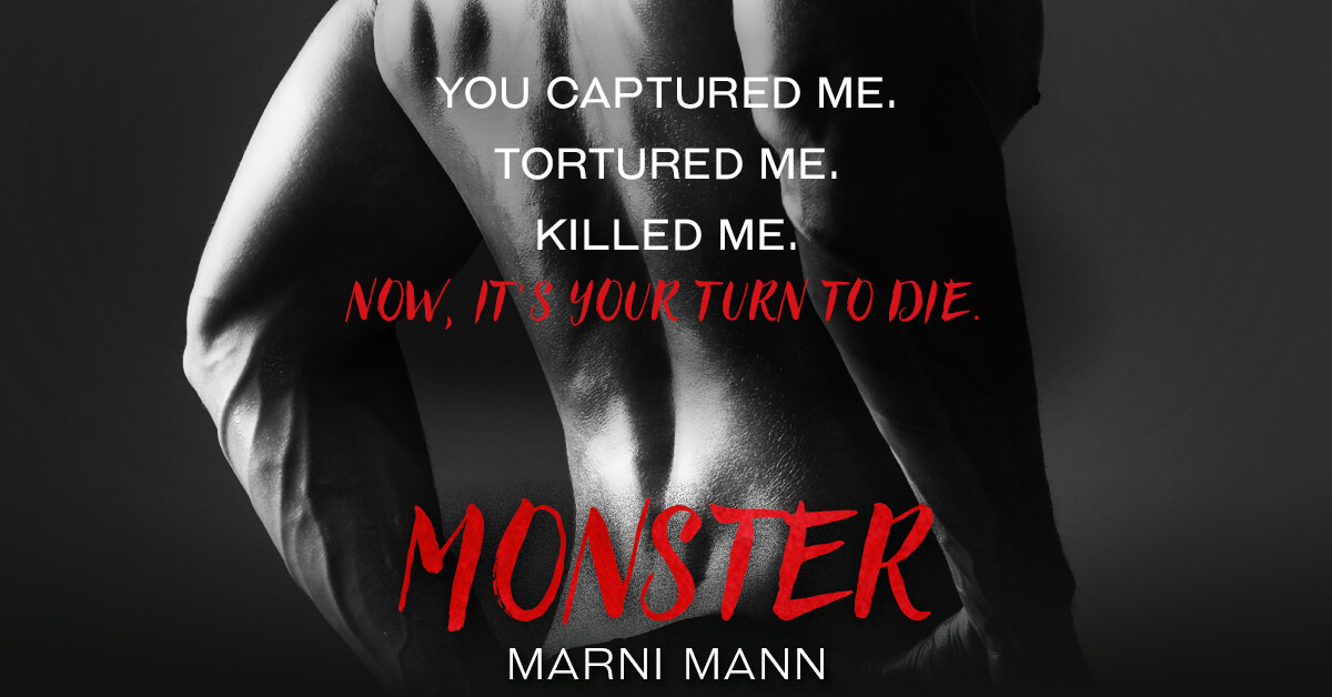* Teaser * Monster by Marni Mann * Coming October 12th * Pre-Order Now *