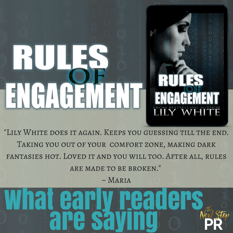 Are you ready ? Rules of Engagement by Lily White Releases Tomorrow!! Pre-Order Now!