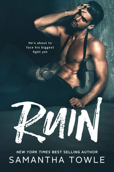 COVER REVEAL * Ruin by Samantha Towle