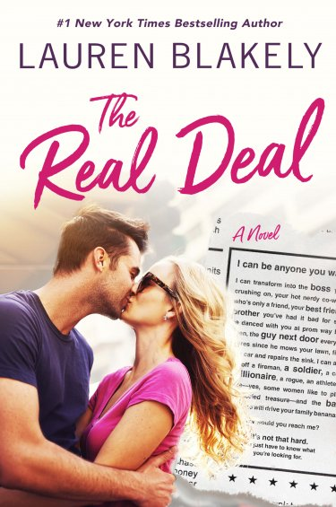 The Real Deal by Lauren Blakely *New Release * Excerpt * Review * Giveaway