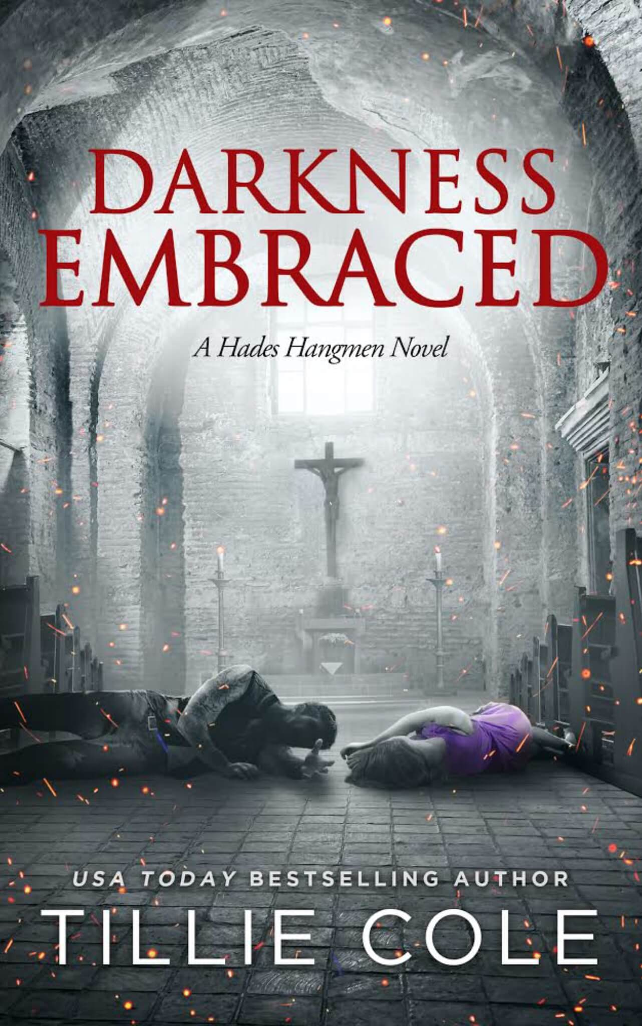 Blurb Reveal * Darkness Embraced (Hades Hangmen 7) by Tillie Cole *