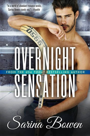 Overnight Sensation by Sarina Bowen * New Release * The Brooklyn Bruisers are BACK!