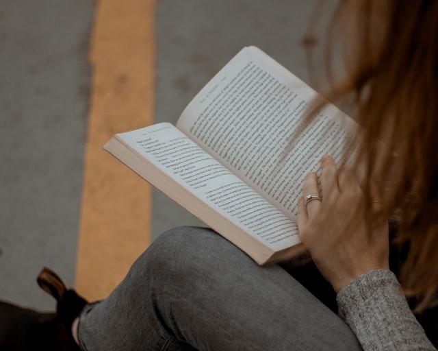 Bilderbücher im Freien