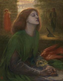 Beata Beatrix c.1864-70 Dante Gabriel Rossetti 1828-1882 Presented by Georgiana, Baroness Mount-Temple in memory of her husband, Francis, Baron Mount-Temple 1889 http://www.tate.org.uk/art/work/N01279