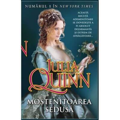 Moştenitoarea sedusă de Julia Quinn-Editura Miron-recenzie