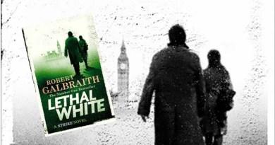LETHAL WHITE   Novo policial de JK Rowling é lançado na Inglaterra