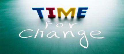 el tiempo y el cambio