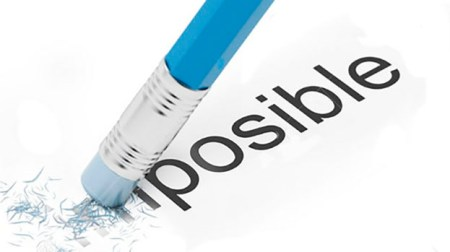de posible a imposible