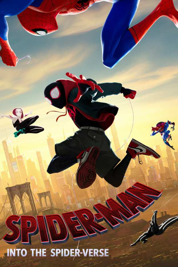"Poster for the movie ""Spider-Man: Into the Spider-Verse"""