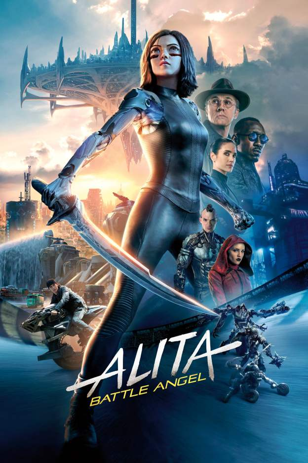 "Poster for the movie ""Alita: Battle Angel"""