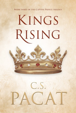 Book Review : Kings Rising (Captive Prince #3) by C.S. Pacat