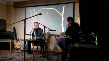 Menno Wigman und Adrian Kasnitz. Foto: Wolfgnag Schiffer