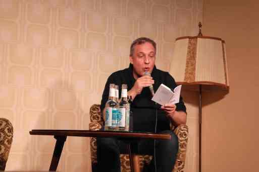 Tomas Glazu im Literaturklub. Foto: A. Kasnitz