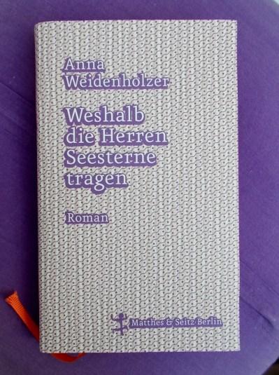 Anna Weidenholzer: Weshalb die Herren Seesterne tragen