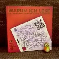 Zum Welttag des Buches: Warum ich lese – 40 Liebeserklärungen an die Literatur Homunculus Verlag
