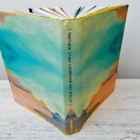 Nathalie Chaix: Liegender Akt in Blau Kunstanstifter Verlag