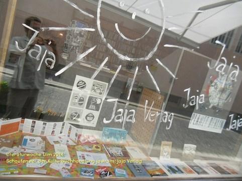 Schaufenster bei Jastram: Jaja Verlag