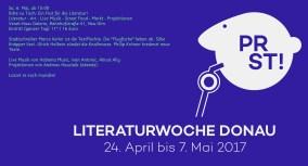 Sa. 6. Mai, ab 15:00 Bitte zu Tisch! Ein Fest für die Literatur! Venet-Haus Galerie, Bahnhofstraße 41, Neu-Ulm
