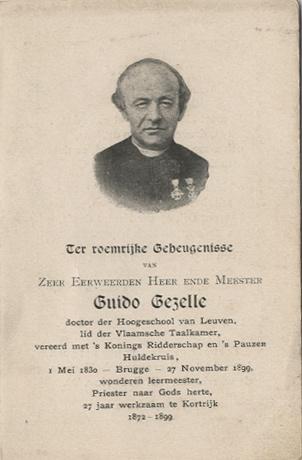Guido Gezelle - Literatuurmuseum