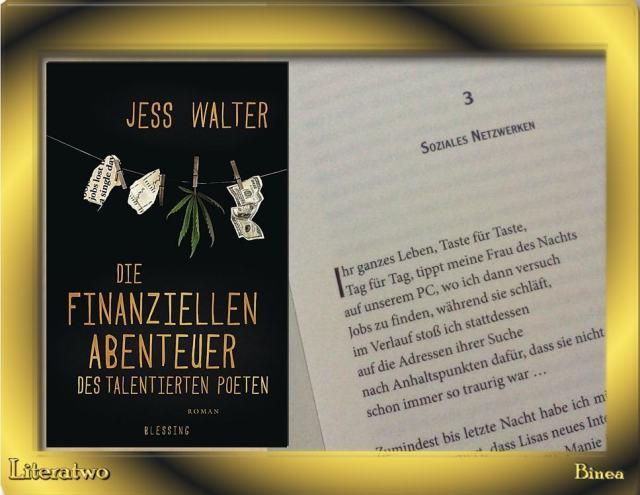 Die finanziellen Abenteuer des talentierten Poeten - Blick in den Roman
