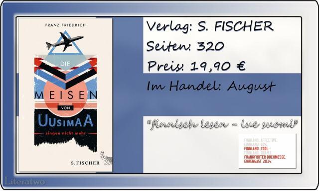 Literatwo: Die Meisen von Uusimaa singen nicht mehr ~ Franz Friedrich