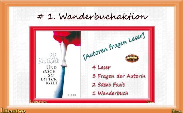 # 1. Wanderbuchaktion - März 2014