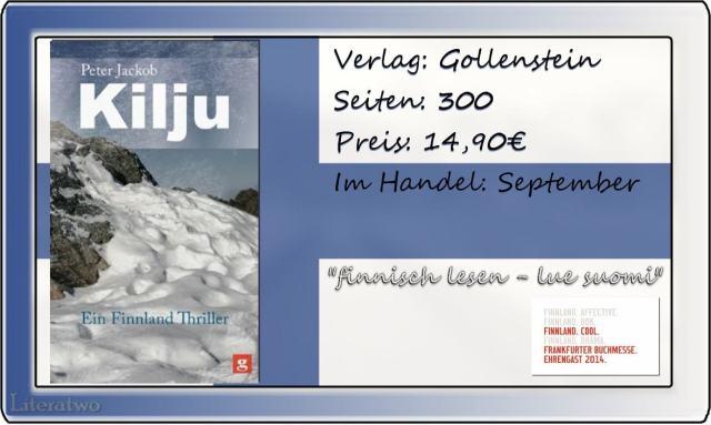 Literatwo: Kilju - Ein Finnlandthriller ~ Peter Jackob