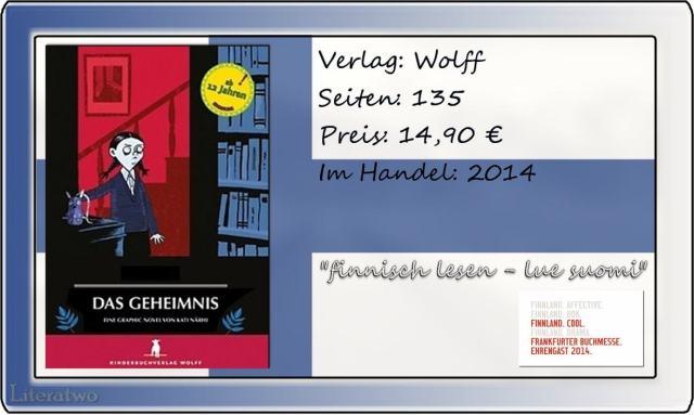 """Literatwo: """"Das Geheimnis"""" ~ Kati Närhl"""