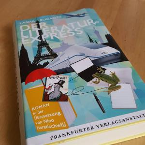 Der Literaturexpress ~ Lasha Bugadze
