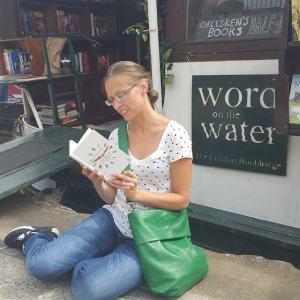 London - mit Buch, aber ohne lesen