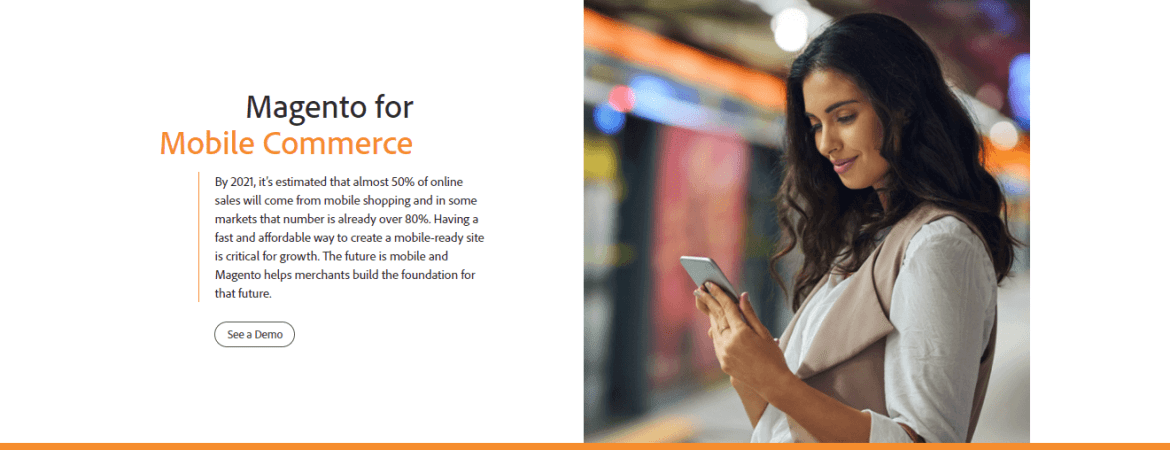 Magento for Mobile Commerce