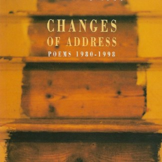 Philip Gross - Changes of Address book cover