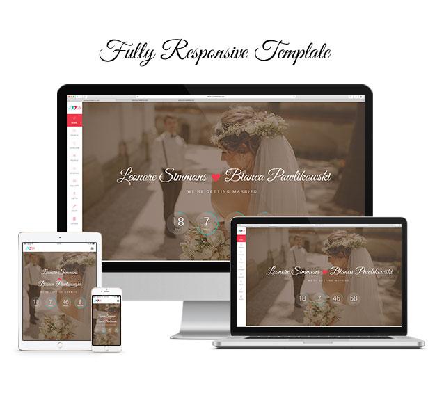 Lovebirds - Responsive Wedding HTML Template - 2